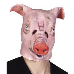 Masque Intégral en Latex Cochon