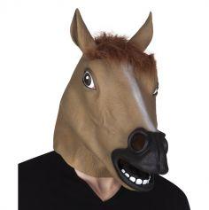 Masque Intégral en Latex Cheval