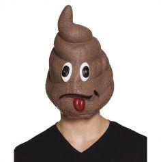 """Masque en Latex """"Crotte""""- Adulte"""