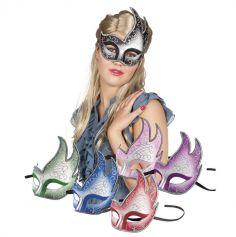 Masque Vénitien Fiamma - Couleur au choix