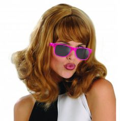 Lunettes Roses Fluo