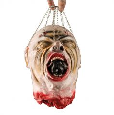 Suspension tête coupée avec chainettes