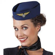 Chapeau d'hôtesse de l'air