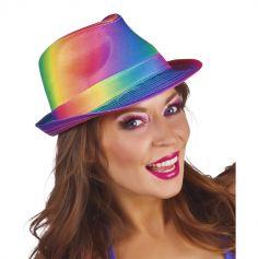 """Borsalino multicolore """"Rave"""""""