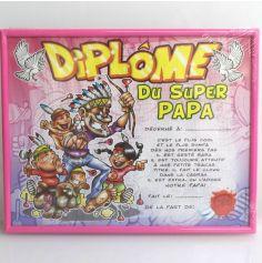Cadre Diplôme du Super Papa