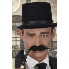 Moustache Adhésive Noire - Sherlock