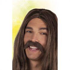 Moustache Hippie Adhésive