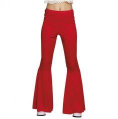 Pantalon Disco pour Femme - Rouge