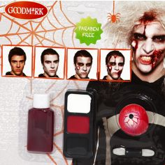 Kit Maquillage Zombie - Adulte
