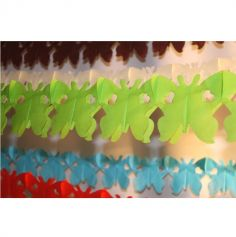 Guirlande Papillon - Vert Pomme