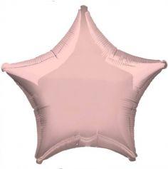 Ballon Hélium Etoile Rose Pastel