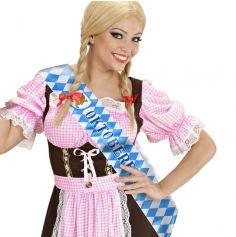 """Écharpe en Satin """"Oktoberfest"""""""