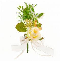 mini-bouquet-fausses-fleurs-mariage|jourdefete.com