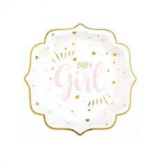 10 assiettes baby shower boy ou girl| jourdefete.com