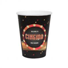 gobelets-verres-cinema-hollywood-decoration-table | jourdefete.com