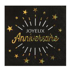 serviette-joyeux-anniversaire | jourdefete.com