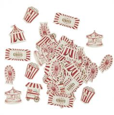 confettis-circus-vintage | jourdefete.com
