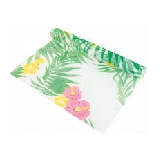 Chemin de Table Feuillage Tropical