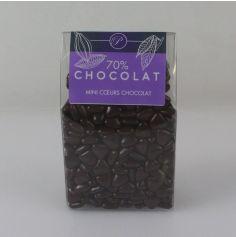 Dragées Mini Coeurs Chocolat 500 gr - Chocolat
