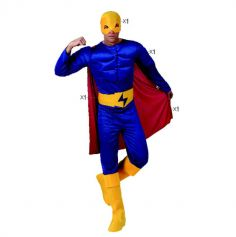 Déguisement d'homme super héros - Taille au choix