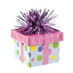 Poids à Ballon Cadeau à Pois Multicolores