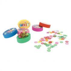 Palet Magnétique Bingo + 100 Pions - Coloris au choix