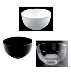 12 petits bols verrines - Plastique couleur au choix | jourdefete.com