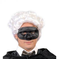 Loup Soie Noir Carnaval Adulte