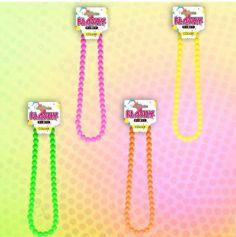 Collier de perle Fluo - Couleur au choix