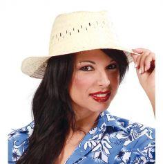 Chapeau de Paille Hawaïen Adulte