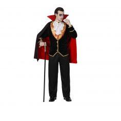 Déguisement de Vampire Noble Homme -Taille au Choix