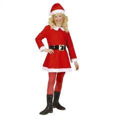 Déguisement Fille - Père Noël - Taille au Choix