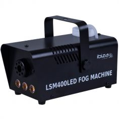 Mini Machine à fumée 400W à LED - Noir