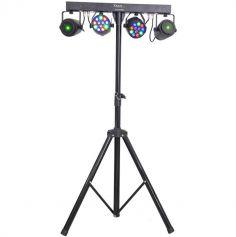 Support de lumières 2 Projecteurs + 2 Lasers