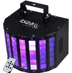 Effet Butterfly lumineux à 6 LED de couleur