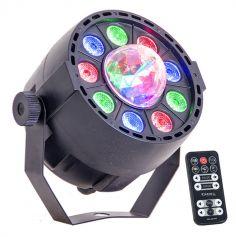 Effet de lumière 2 en 1 Projecteur Par + Astro