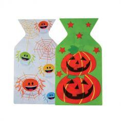 15 Sachets à bonbons pour halloween - Modèle au Choix