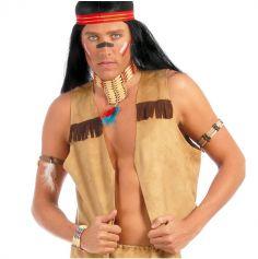 Gilet d'Indien Homme - Taille Unique