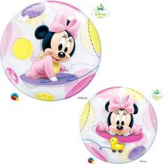 Ballon Hélium Bubble Minnie
