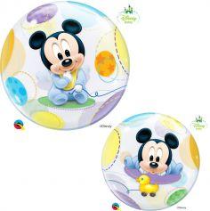 Ballon Hélium Bubble Mickey