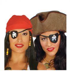 Bandeau Cache-oeil de pirate