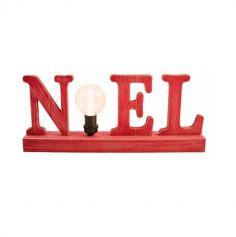 """Centre de Table """"Noël"""" avec Ampoule"""