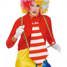 Bretelles de Clown Multicolores