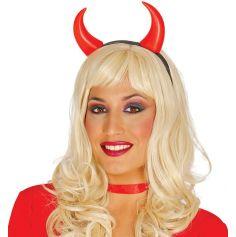 Serre-Tête Cornes de Diable | jourdefete.com