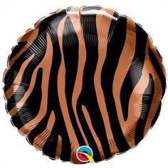 Ballon en aluminium Tigre - 45 cm