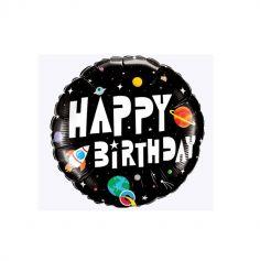 anniversaire-ballon-espace-astronaute | jourdefete.com