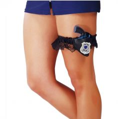 Jarretière de Policière avec Pistolet