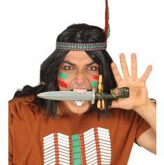 Couteau Indien Sculpté
