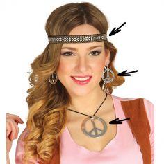 Set d'Accessoires Hippie Femme