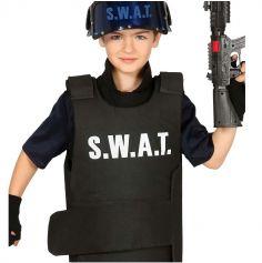 Gilet Agent du S.W.A.T. Enfant